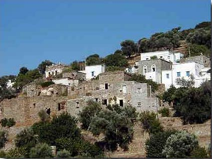 Old houses in Korthi ANDROS PHOTO GALLERY - HOUSES IN KORTHI