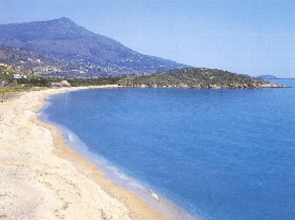 Travel to Andros Photo Gallery  -  ANDROS BEACH