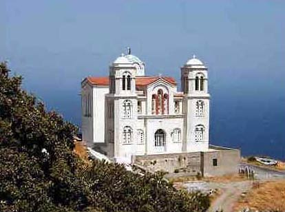 Agridiotissa church in Giannisaio ANDROS PHOTO GALLERY - AGRIDIOTISSA CHURCH