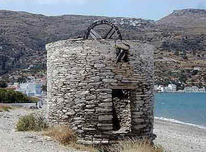 ANDROS PHOTO GALLERY - WATER MILL IN ORMOS