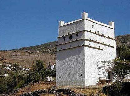 Pigeon house in Korthi ANDROS PHOTO GALLERY - PIGEON HOUSE
